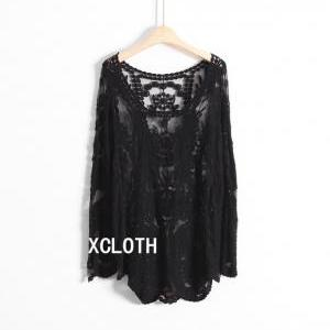 XCLOTH Women Lace Floral To..